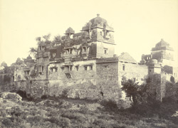 Haveli of Fatta Jaymal on the fort of Chittor